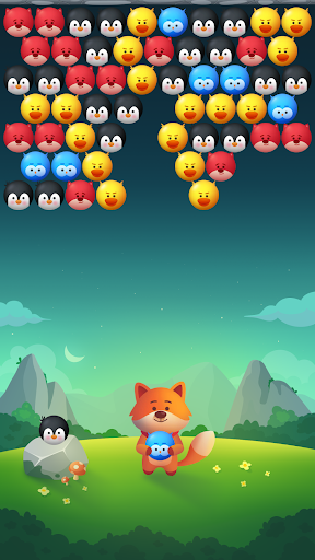 Bubble Animals Fox - Ultimate Bubble Shooter android2mod screenshots 5