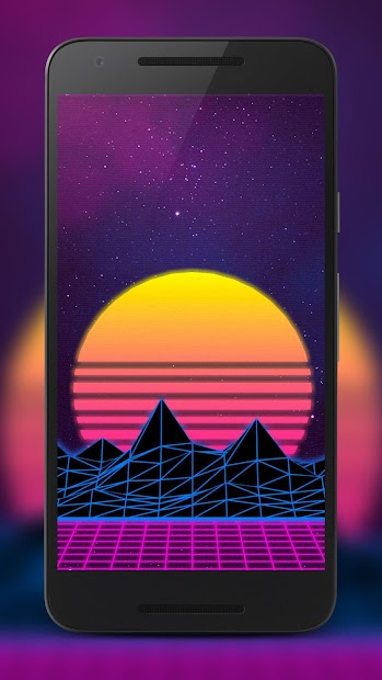 Vaporwave Wallpaper, Aesthetic, Glitch: Vaporify Android App Screenshot ...