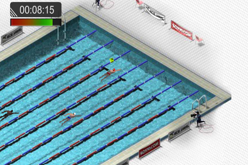 Swimming Race 2016 screenshot 3