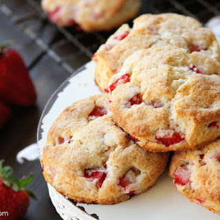 Strawberries and Cream Biscuits and the Biscuits Cookbook Recipe