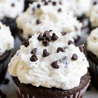 Chocolate Cupcakes with Chocolate Chip Frosting Recipe