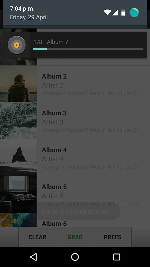 Album Art Grabber- screenshot