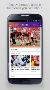 Yahoo - News, Sports & More Screenshot 2