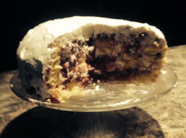 Blackberry Cream Cake Recipe