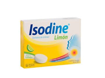 **ISODINE LIMÓN TABLETAS