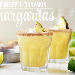Pineapple Cinnamon Margaritas