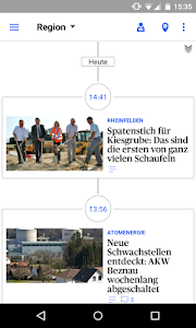 az Aargauer Zeitung News screenshot 2
