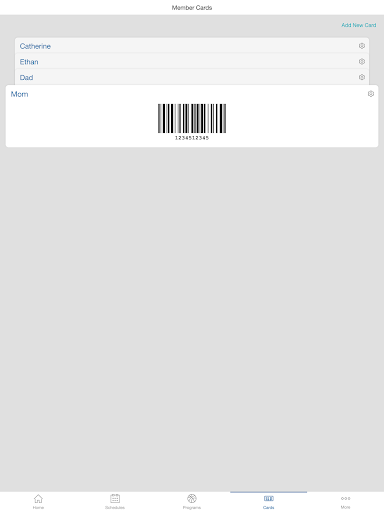 Screenshot for Daxko in United States Play Store