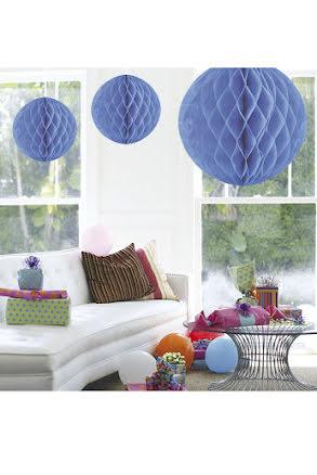 Dekorationsboll, blå 50 cm