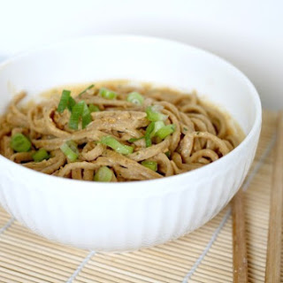 Thai Peanut Sauce with Whole Wheat Noodles Recipe