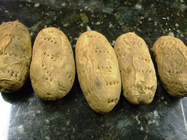 *NOTE:  For faster preparation of the potatoes, instead of baking them, puncture the...