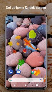 Fish On Screen 3D Wallpaper 1