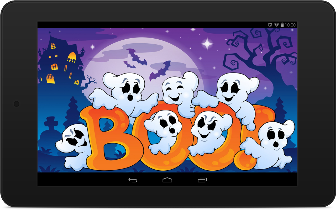 halloween ghost wallpapers android apps on google play