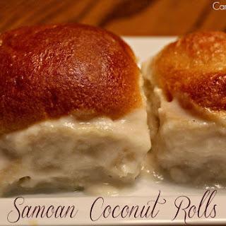 Samoan Coconut Rolls – Pani Popo
