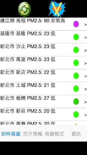 玩天氣App|台灣空氣品質:霧霾/霾害(語音播報版)免費|APP試玩