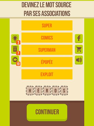 Devinez le mot - 5 indices, Jeu de mots gratuit APK MOD – ressources Illimitées (Astuce) screenshots hack proof 1