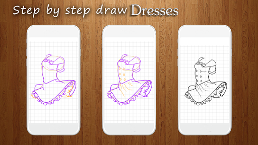 How to Draw Dresses 1.1 screenshots 3