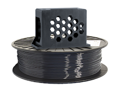 Jet Gray PRO Series PETG Filament - 1.75mm (1kg)