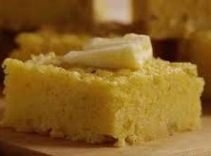 Sweet, Moist, Buttery Corn Bread Recipe