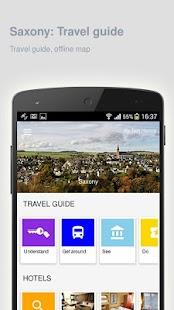Saxony: Offline travel guide - náhled