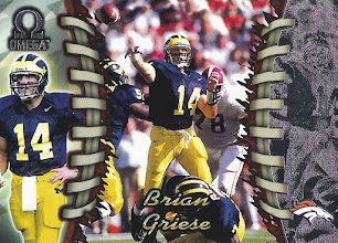 Photo: Brian Griese 1998 Pacific Omega RC