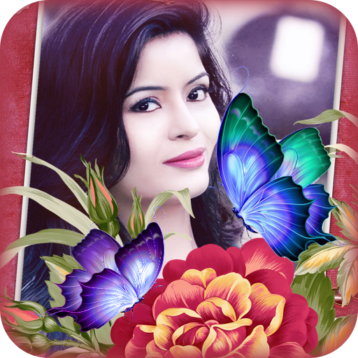 Butterfly Photo Frame app (apk) free download for Android/PC/Windows