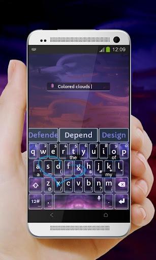 紫雨風暴Zǐ yǔ fēngbào TouchPal|玩個人化App免費|玩APPs
