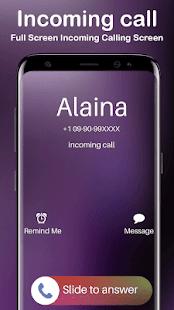 Full screen iOS caller screen-slide to answer - náhled