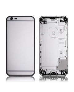 iPhone 6S Back Housing without logo High Quality Silver