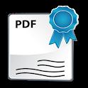 Firma Digital PDF icon