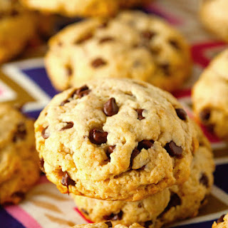Unbelievably Healthy Chocolate Chip Cookies.