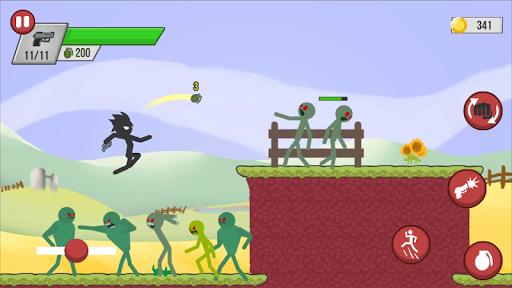 Stickman Zombie Shooter apkmr screenshots 5