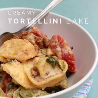 Creamy Tortellini Bake.