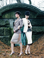 Fashion editorial featuring looks from Tom Ford.