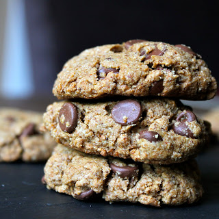 Double Almond Butter Chocolate Chip Cookies