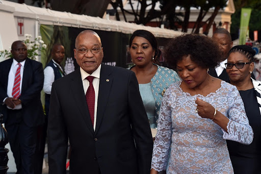 President Jacob Zuma with National Assembly Speaker Baleka Mbete. Picture: GCIS