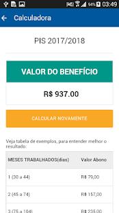 PIS - Consulta Saldo e Calendário - náhled