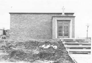 Photo: 1951 St. Francis Church, currently the school music room
