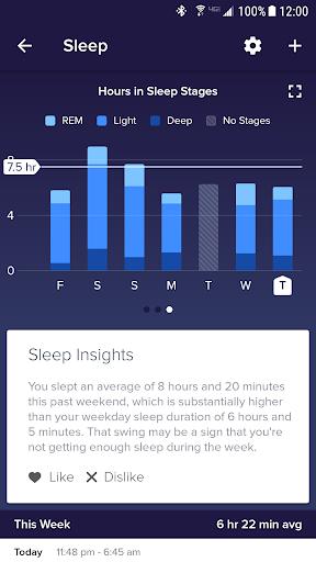 Fitbit screenshot 4