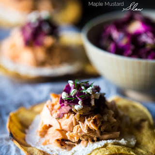 Grilled Maple Salmon Tostada