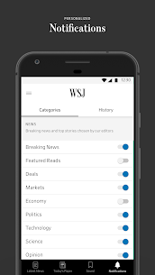 The Wall Street Journal: Business & Market News v4.10.1.42 [Subscribed] 4