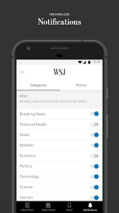 The Wall Street Journal Business & Market News 4.21.1.12 Subscribed - 6 - images: Store4app.co: All Apps Download For Android