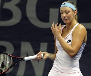 Le troisième tour de Yanina Wickmayer s'est joué dans le premier set