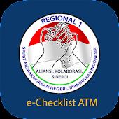 e-Checklist ATM Regional I