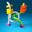 Twisted Master: Tangle Rods 3D icon