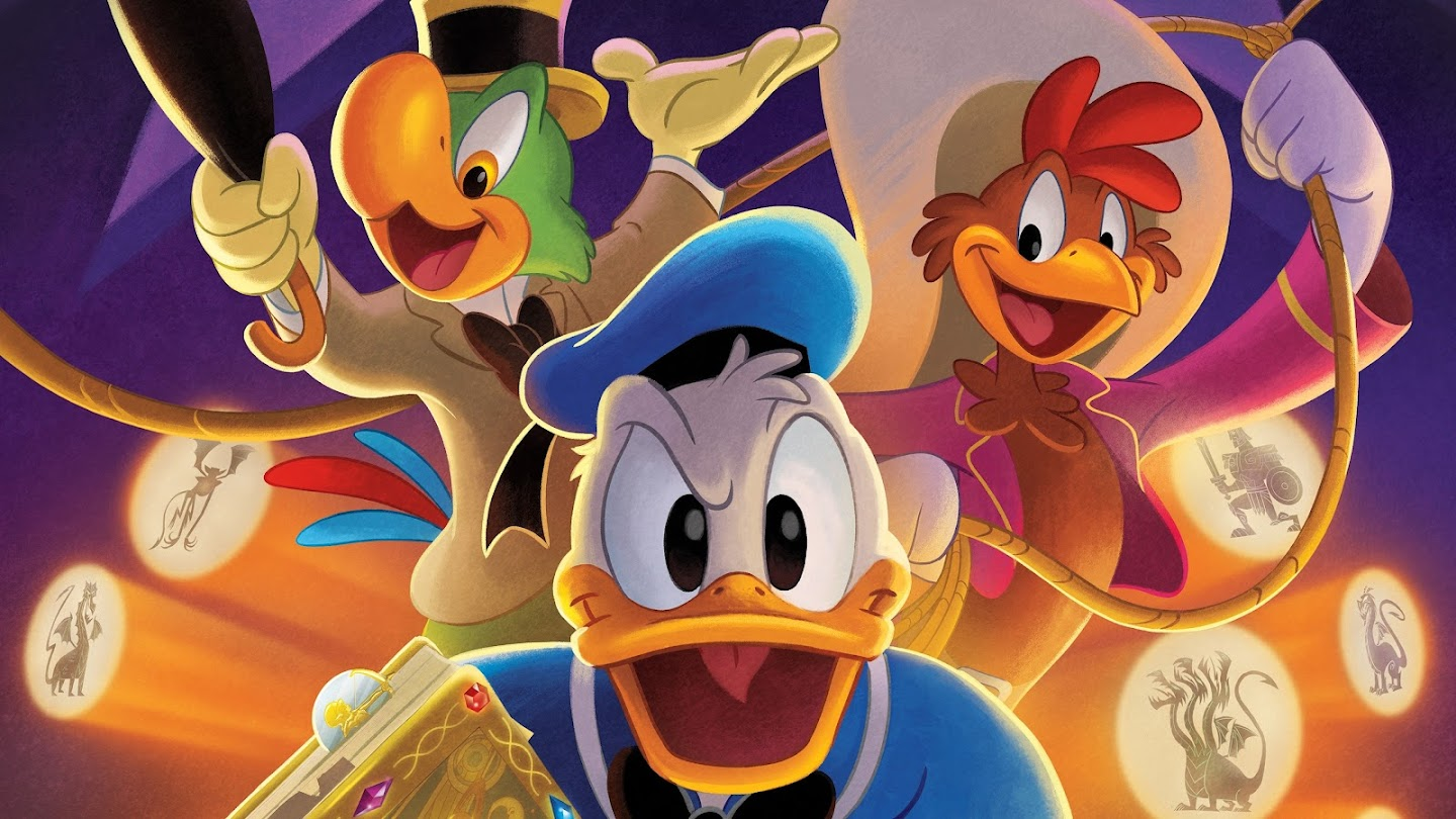 Watch Legend Of The Three Caballeros live