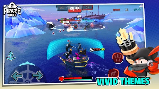 Pirate Code – PVP Battles at Sea – MOD (Speed up/Torpedo) 5