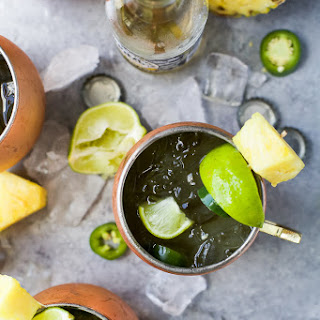 Jalapeno Pineapple Moscow Mule.