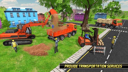 Heavy Excavator Simulator 2018 - Dump Truck Games screenshots 2