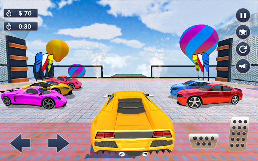 Mega Ramp Car Simulator u2013 Impossible 3D Car Stunts apkpoly screenshots 14